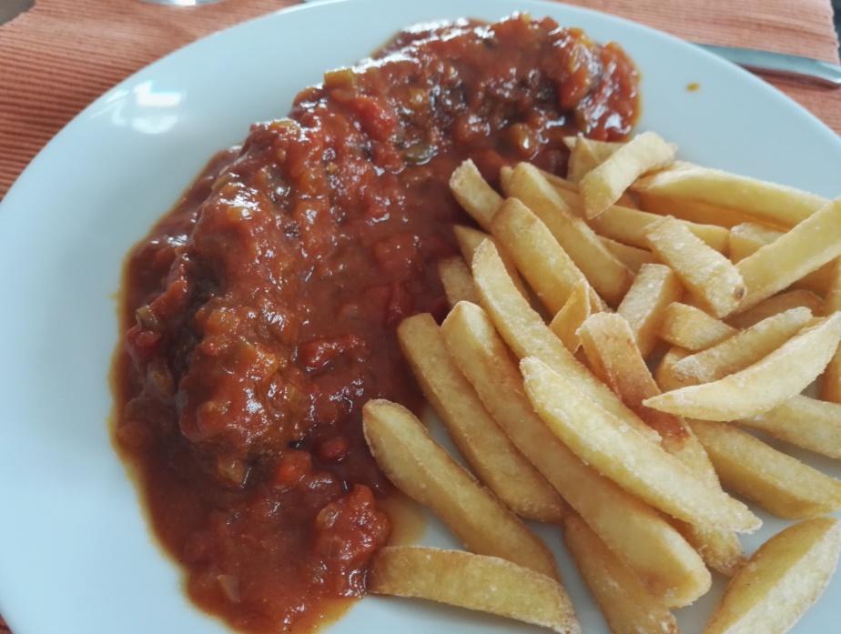 Currywurst à laSansibar