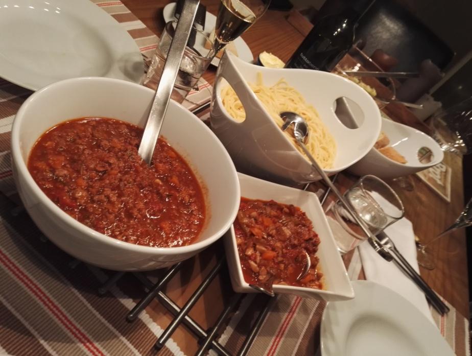 Pasta alla Ragù aka 'Spaghetti Bolognese'