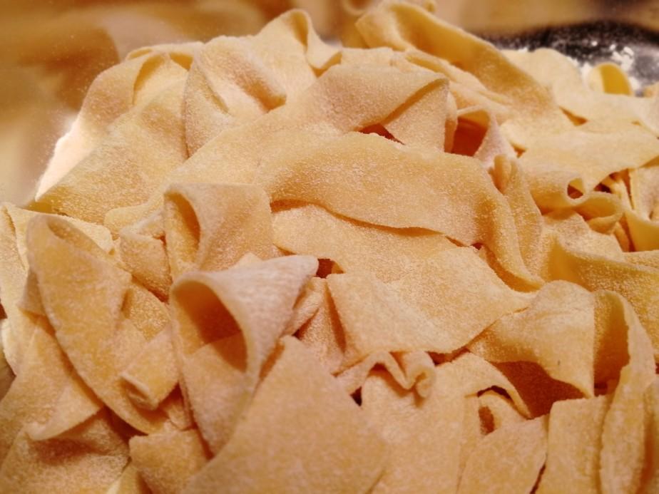 Pasta – Fettucine –Bandnudeln